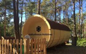 Foto 16 Sauna Pod und Camping Pod in massiver 58 mm Premium Wandstärke, viele Größen und Ausführungen, ..
