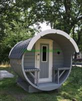 Foto 21 Sauna Pod und Camping Pod in massiver 58 mm Premium Wandstärke, viele Größen und Ausführungen, ..