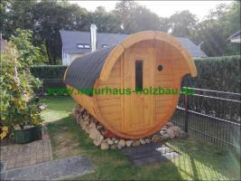 Foto 23 Sauna Pod und Camping Pod in massiver 58 mm Premium Wandstärke, viele Größen und Ausführungen, ..