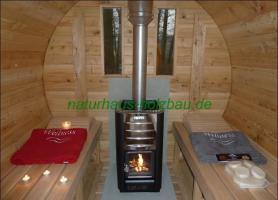 Foto 13 Sauna Pod, Campingpod, Schlaffass, Campingfass, Fass Sauna, Fasssauna, Sauna