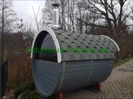 Foto 32 Sauna Pod, Campingpod, Schlaffass, Campingfass, Fass Sauna, Fasssauna, Sauna