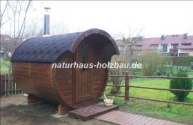 Foto 10 Sauna Pod, Saunapod, Fasssauna, Saunafass, Gartensauna, Saunakota, Saunahaus, Saunablockhaus, ..