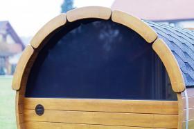 Foto 22 Sauna Pod, Saunapod, Fasssauna, Saunafass, Gartensauna, Saunakota, Saunahaus, Saunablockhaus, ..
