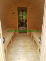 Foto 23 Sauna Pod, Saunapod, Fasssauna, Saunafass, Gartensauna, Saunakota, Saunahaus, Saunablockhaus, ..