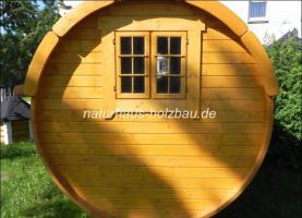 Foto 9 Sauna Pod, Schlaf Pod, Schlaffass in massiver 58 mm Premium Wandstärke