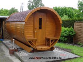 Foto 13 Sauna Pod, Schlaf Pod, Schlaffass in massiver 58 mm Premium Wandstärke