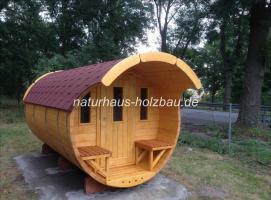 Foto 17 Sauna Pod, Schlaf Pod, Schlaffass in massiver 58 mm Premium Wandstärke