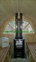 Foto 18 Sauna Pod, Schlaf Pod, Schlaffass in massiver 58 mm Premium Wandstärke