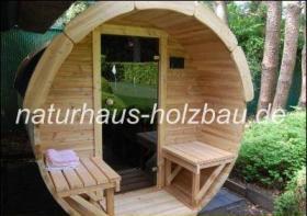 Foto 12 Saunapod, Sauna Pod, Fasssauna, Saunafass, Gartensauna, Aussensauna