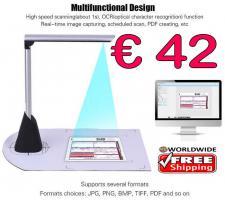 Scanner portabel 5MP OCR 3D 1secHighSpeed nur € 42  frei Haus