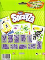 Foto 2 Schablonen-Set 2 für SprayZa Stifte, Airbrush, Neu