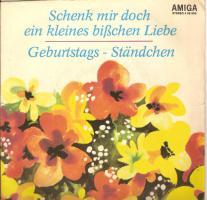Foto 4 Schallplatten (AMIGA) Singles