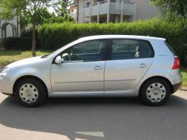 Foto 2 Scheckheftgepflegter VW Golf 1.4 Trendline 5-türig * 37 Tkm* silber* TÜV* NEU*