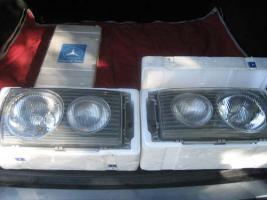 Foto 2 Scheinwerfer für W123 Neu