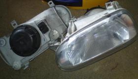 Scheinwerfer links+rechts VW Golf III