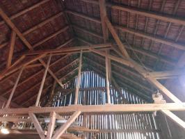Scheune Stadel Holz zu verschenken
