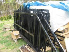 Foto 5 Schiebetor, Flügeltor, Zaun, Pforte  -  alles aus Metall zum Frühlingspreis