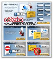 Schilder Shop