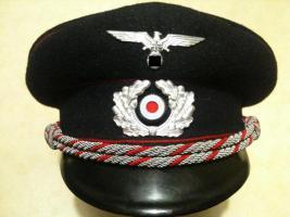 Schirmmütze WK2 WW2 Uniform Militaria Mütze