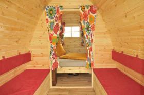 Foto 7 Schlaffass, Campingfass, XXL Campingfass, Schlaffass, Campingpod, Schlafpod