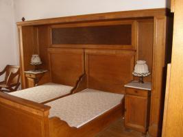 Schlafzimmer antik massiv Eiche in Minheim von privat (Antik-Möbel, Antiquarische Möbel)