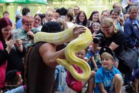 Foto 2 Schlangenshow Thüringen