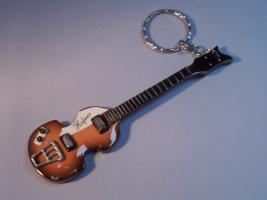 Schlüsselanhänger – Beatles - Paul McCartney Hofner Bass.