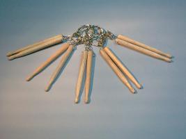 Schlüsselanhänger Drum-Sticks
