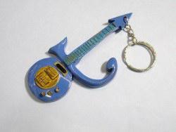 Schlüsselanhänger - Prince Purple Symbol guitar