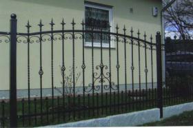 Foto 4 Schmiedeeiserne Zäune aus Polen, Metallzaun, Tor, Pforte, Zaune