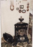 Schmuckstück antiker Ofen