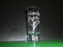 Foto 3 Schnapsglas - Likörglas mit Gravur