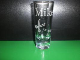 Foto 5 Schnapsglas - Likörglas mit Gravur