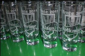 Foto 8 Schnapsglas - Likörglas mit Gravur