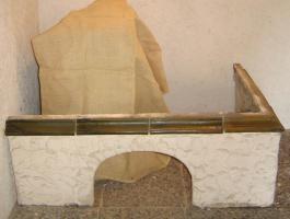 Foto 2 #Schnellbausatz Kachelofen, #grün, #nie benutzt