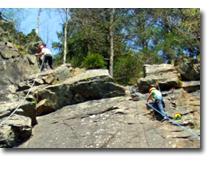 Foto 3 Schnupper-Klettern im Steinbruch bei Oberstdorf in Bayern