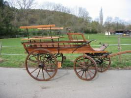 Foto 4 Schöner ungarischer Jagdwagen