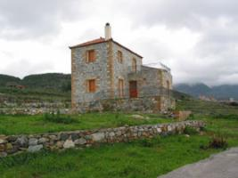 Schönes Natursteinhaus nahe Petalidi / Griechenland