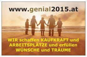 Schon mal etwas von GENIAL2015 gehört? Dem Sozialprojekt.....