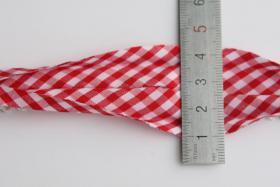 Foto 2 Schrägband mit Häkelspitze, Baumwolle, 20m Wickel, Vickykaro Muster