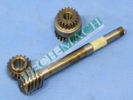 Schraube für bulgarische Drehmaschinen CU 580