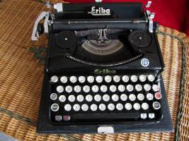 Schreibmaschine Naumann Erika-Koffer-