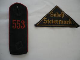 Schulterstücke und ähnliches (u.a. Südost Steiermark)