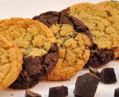Schwarz und weiß Cookies mmm.