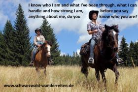 Foto 3 Schwarzwald-Wanderreiten, Reitferien in Todtmoos Au