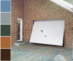 Garagentor mit nebentür  Schwingtor mit Tür, Garagentor mit Tür, Schlupftür, Inkl. Farbwahl ...