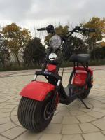 Foto 3 Scooter Harley Elektro Roller 1000w 60v Akku Batterie Coco City