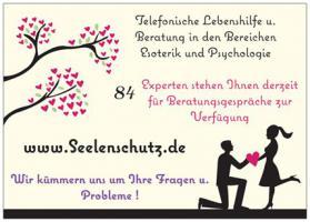 Seelenschutz~Lebenshilfe und telefonische Beratung nur von geschulten Experten !!