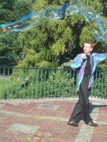 Foto 3 Seifenblasen Hannover Spontan Vorführung