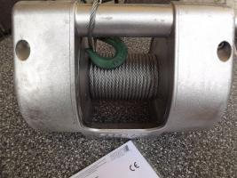 Seilwinde von Pfaff in Vollaluminium mit Bremse, PKW, LKW, Autotransport, Boot, Trailer